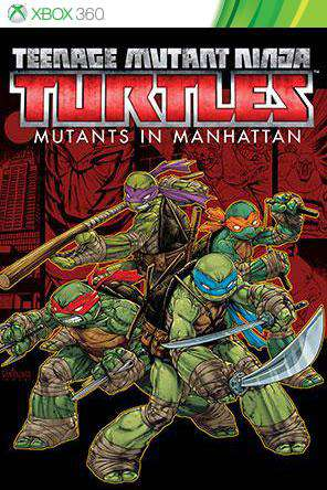 Teenage Mutant Ninja Turtles: Mutants in Manhattan Xbox 360, Game on XBOX360, Action