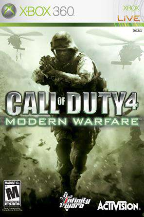 Call of Duty: Modern Warfare Xbox 360, Game on XBOX360, Shooter