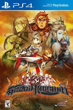 Grand Kingdom, Game on PS4, Action