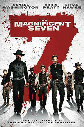 The Magnificent Seven (2016), Movie on DVD, Action Movies, Adventure Movies, Drama