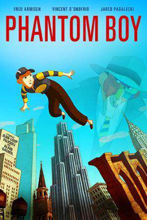 Phantom Boy, Movie on DVD, Animated Movies, Special Interest