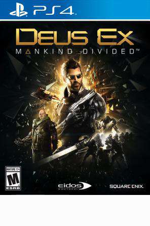 Deus Ex: Mankind Divided, Game on PS4, Shooter