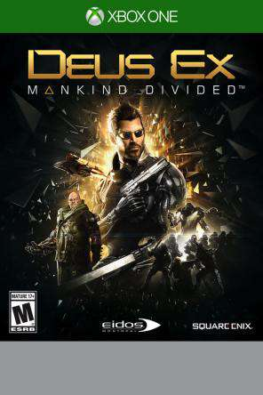 Deus Ex: Mankind Divided Xbox One, Game on XBOXONE, Shooter