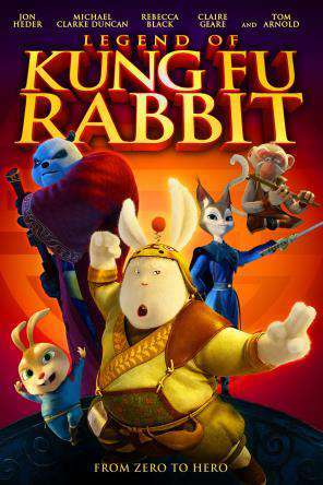 Legend of Kung Fu Rabbit, Movie on DVD, Animated Movies, Kids Movies, Family
