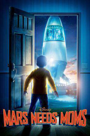 Mars Needs Moms, Movie on DVD, Family