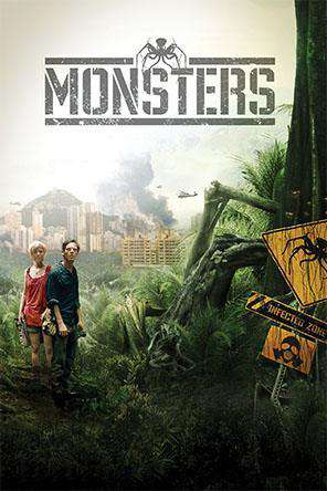 Monsters, Movie on DVD, Drama Movies, Sci-Fi & Fantasy