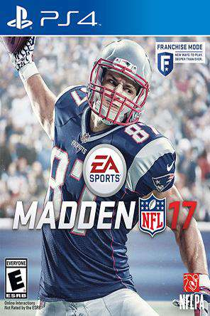 Madden NFL 17, Game on PS4, Sports