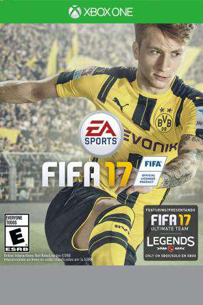 FIFA 17 Xbox One, Game on XBOXONE, Sports
