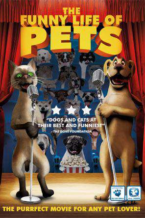 The Funny Life of Pets, Movie on DVD, Animated Movies, Kids Movies, Family