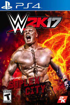 WWE 2K17, Game on PS4, Sports