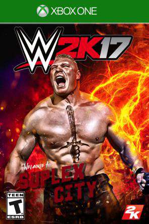 WWE 2K17 Xbox One, Game on XBOXONE, Sports