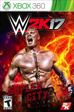 WWE 2K17 Xbox 360, Game on XBOX360, Sports