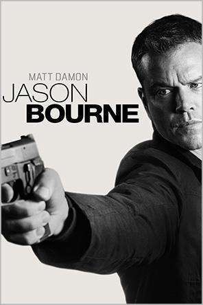 Jason Bourne, Movie on DVD, Action Movies, Horror