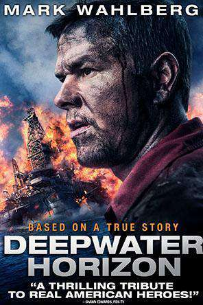 Deepwater Horizon, Movie on DVD, Drama Movies, Thriller & Suspense