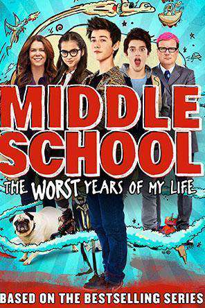 Middle School: The Worst Years of My Life, Movie on DVD, Comedy Movies, Comedy