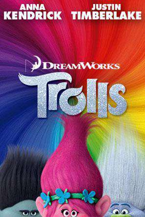 Trolls, Movie on DVD, Family Movies, Kids