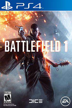 Battlefield 1, Game on PS4, Shooter
