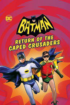 Batman: Return of the Caped Crusaders, Movie on DVD, Action Movies, Animated Movies, Kids