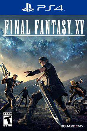 Final Fantasy XV, Game on PS4, Action