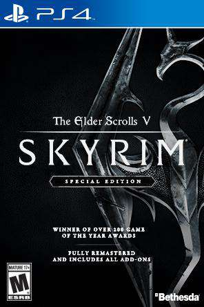 Skyrim, Game on PS4, Action
