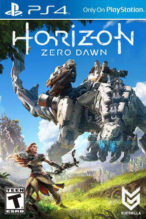 Horizon: Zero Dawn, Game on PS4, Action
