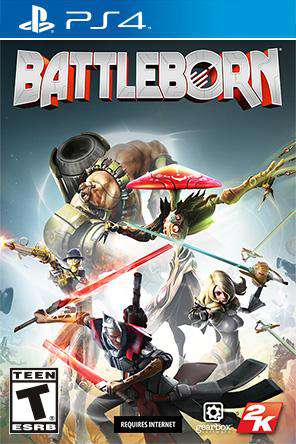 Battleborn, Game on PS4, Action
