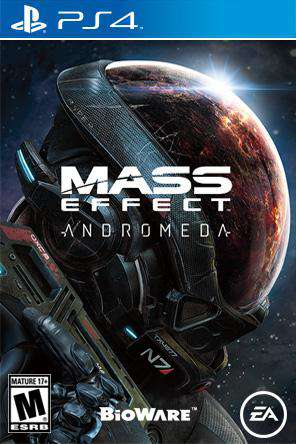 Mass Effect Andromeda, Game on PS4, Action