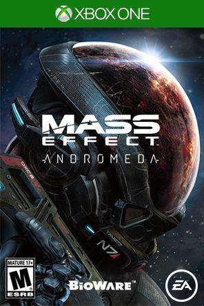 Mass Effect Andromeda Xbox One, Game on XBOXONE, Action