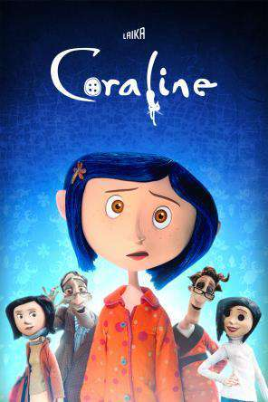Coraline, Movie on DVD, Family