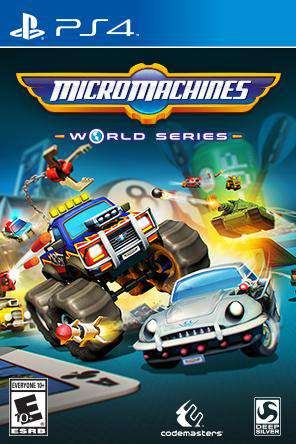 Micro Machines World Series, Game on PS4, Family