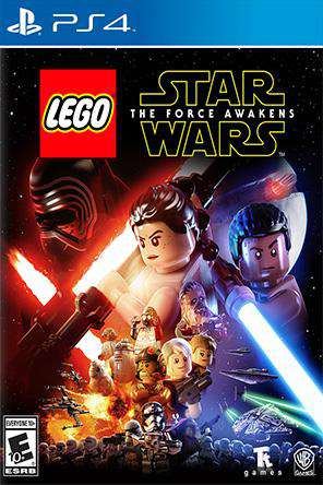 LEGO Star Wars: The Force Awakens, Game on PS4, Family