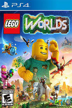 LEGO Worlds, Game on PS4, Family