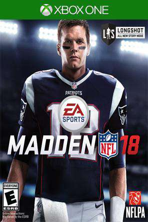 Madden NFL 18 Xbox One, Game on XBOXONE, Sports