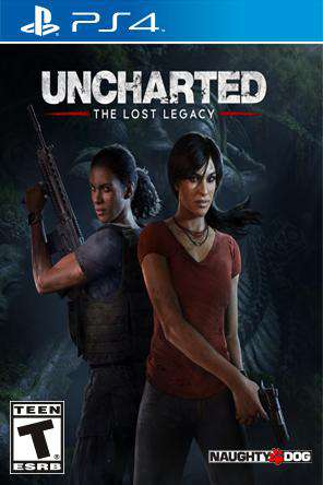 Uncharted: The Lost Legacy, Game on PS4, Action