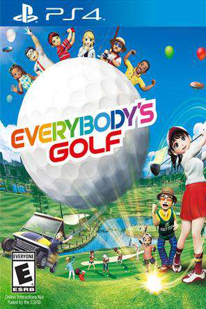 Everybody's Golf, Game on PS4, Sports