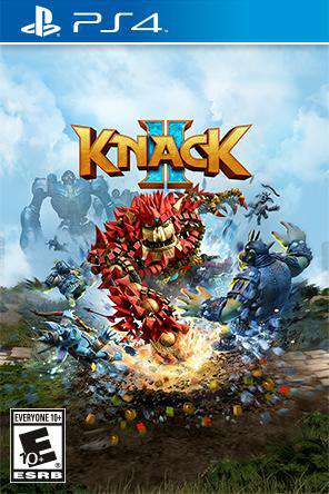 Knack 2, Game on PS4, Action