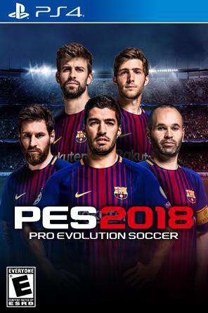 Pro Evolution Soccer 2018, Game on PS4, Sports