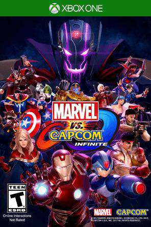 Marvel Vs. Capcom Infinite Xbox One, Game on XBOXONE, Fighting
