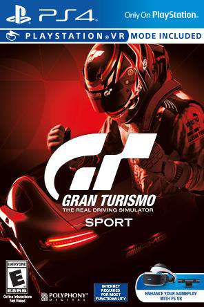 Gran Turismo Sport, Game on PS4, Sports