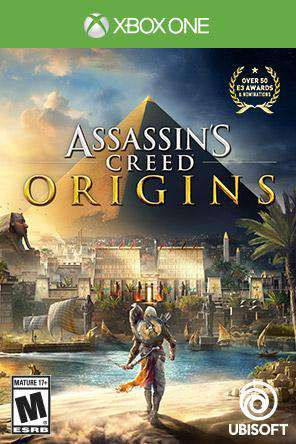 Assassin's Creed Origins Xbox One, Game on XBOXONE, Action
