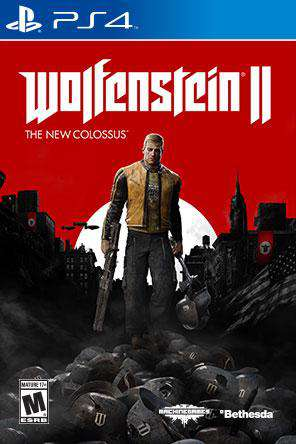 Wolfenstein II: The New Colossus, Game on PS4, Shooter