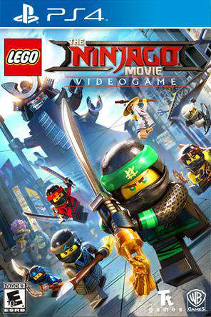 The LEGO Ninjago Movie Video Game, Game on PS4, Action