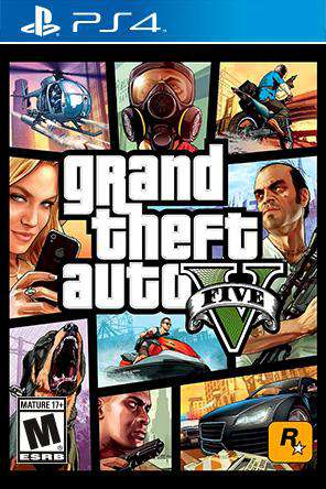 Grand Theft Auto V, Game on PS4, Action