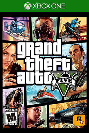 Grand Theft Auto V Xbox One, Game on XBOXONE, Action