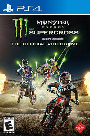 Monster Energy AMA Supercross, Game on PS4, Sports