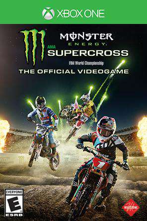 Monster Energy AMA Supercross Xbox One, Game on XBOXONE, Sports