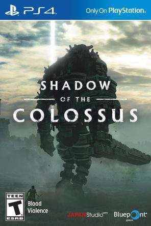 Shadow of the Colossus, Game on PS4, Action