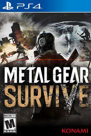 Metal Gear Survive, Game on PS4, Action