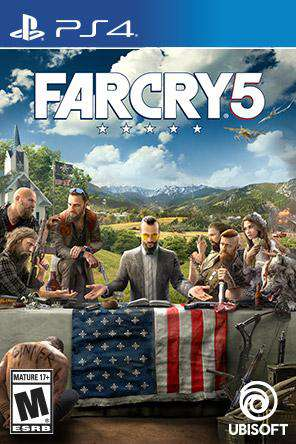 Far Cry 5, Game on PS4, Action