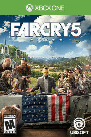 Far Cry 5 Xbox One, Game on XBOXONE, Action